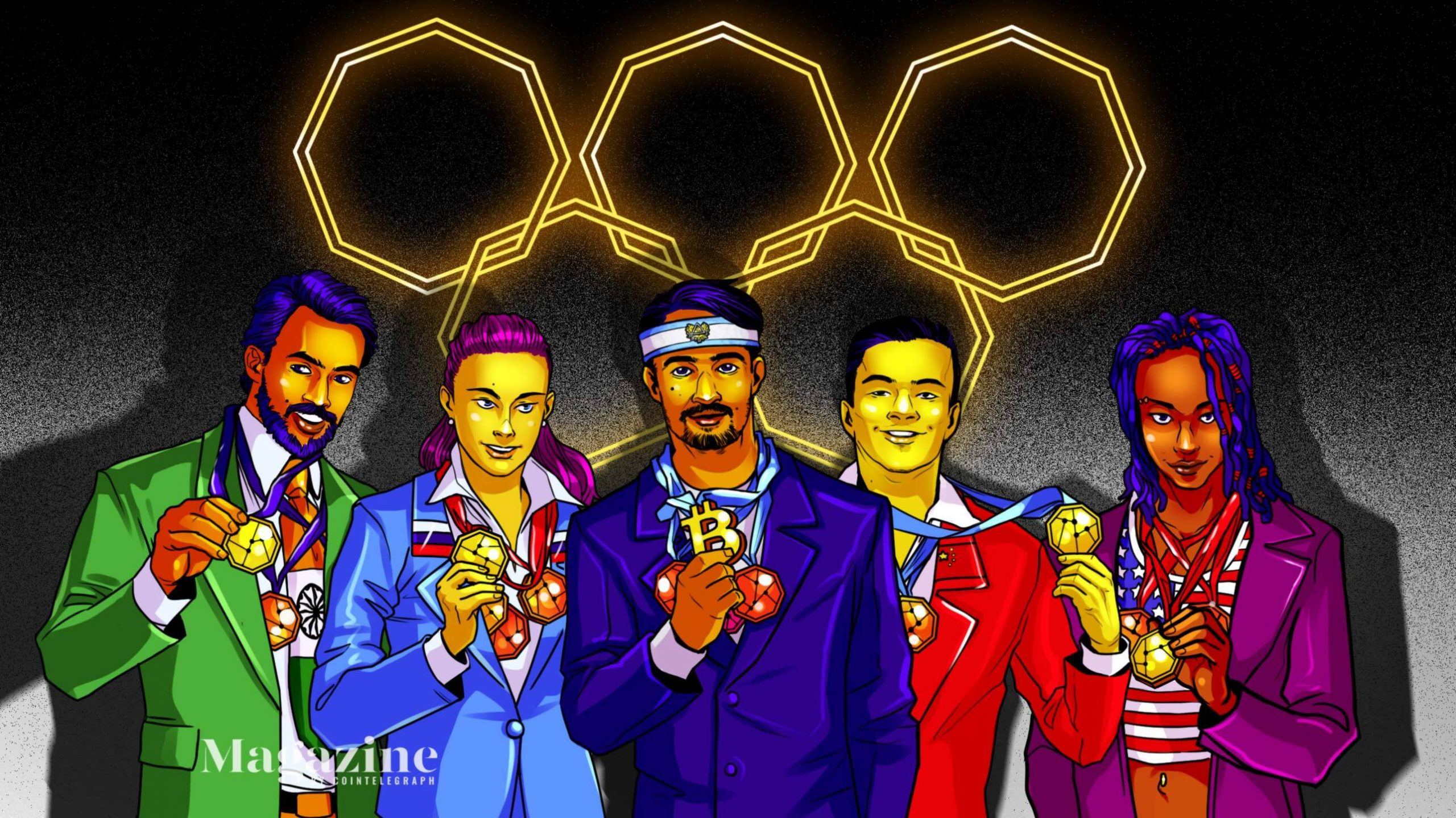 Who takes gold in the crypto and blockchain Olympics?